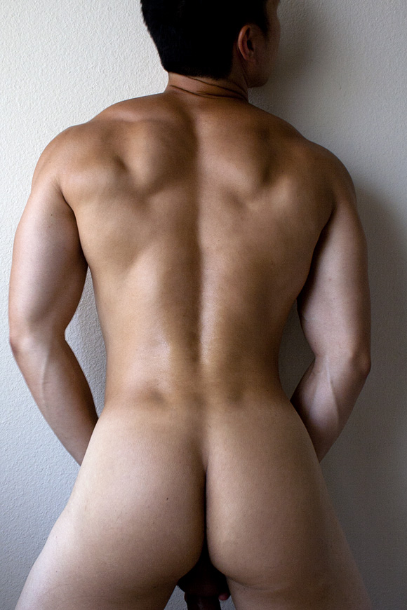 Hot asian boy butt ass